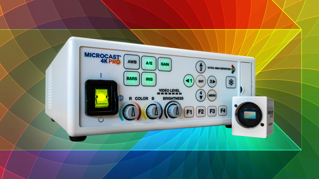 MICROCAST PRO 4K & HD 3CMOS Microscope Camera Systems